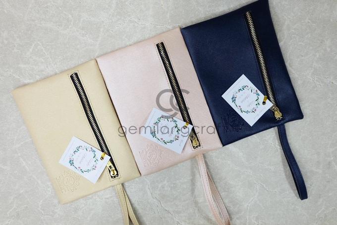 Dakota pouch for Hafiz & Nabilah by Gemilang Craft - 002