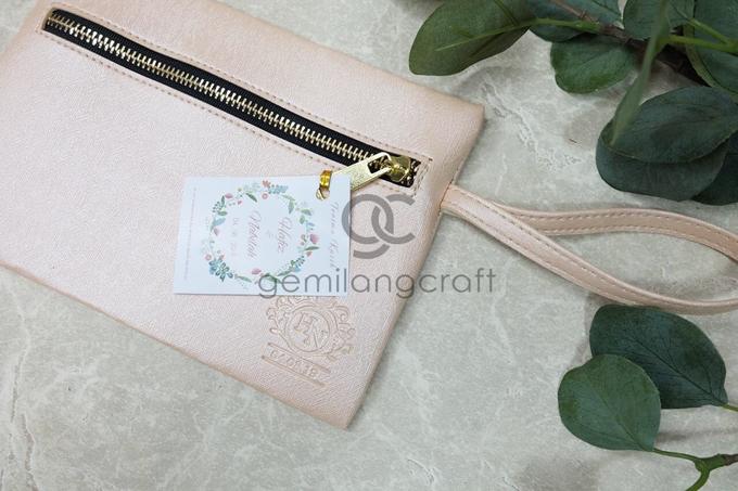 Dakota pouch for Hafiz & Nabilah by Gemilang Craft - 001