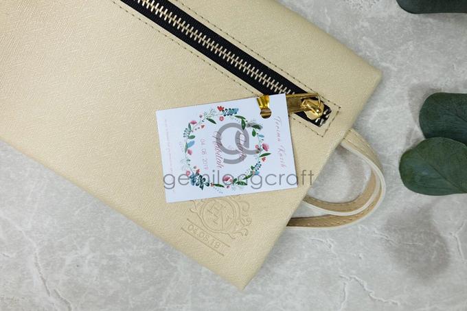 Dakota pouch for Hafiz & Nabilah by Gemilang Craft - 003