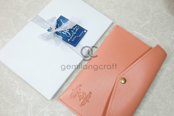 Premium envelope for Rizal & Indah by Gemilang Craft - 001