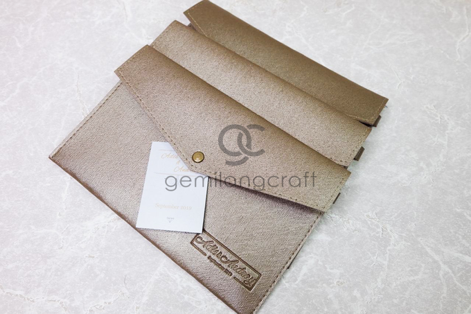 Envelope pouch for Gladis and Andri by Gemilang Craft - 001