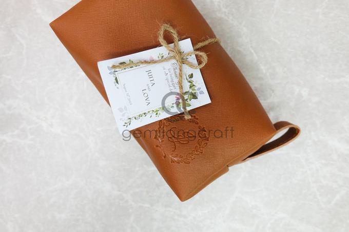 Premium boxy pouch packaging ribbon Juita & Lova by Gemilang Craft - 002