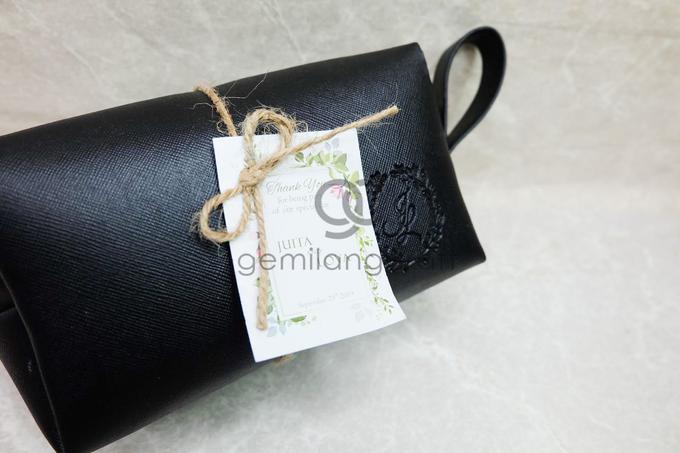 Premium boxy pouch packaging ribbon Juita & Lova by Gemilang Craft - 003