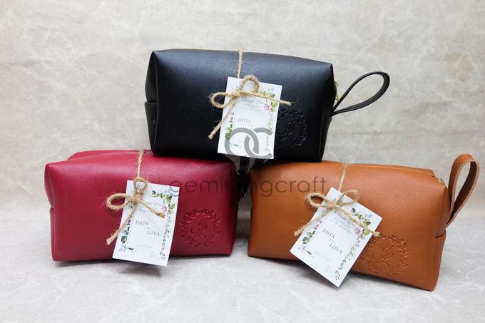 Premium boxy pouch packaging ribbon Juita & Lova by Gemilang Craft - 001