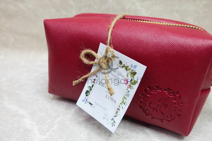 Premium boxy pouch packaging ribbon Juita & Lova by Gemilang Craft - 004