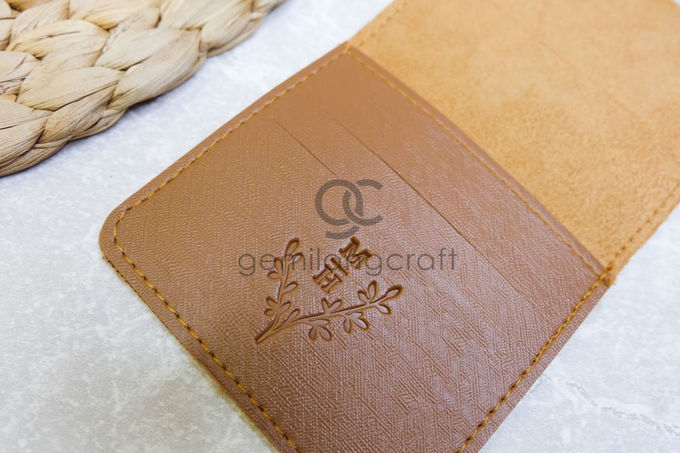 Premium b wallet with ribbon for Miftha & Hafiz by Gemilang Craft - 002
