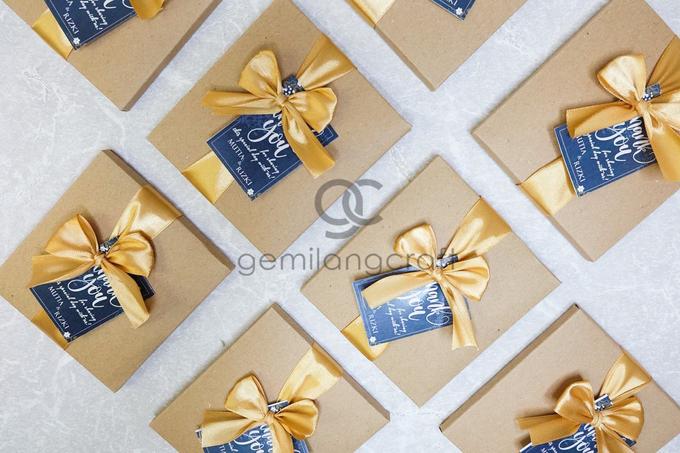 Premium b wallet paper box for Mutia & Rizki by Gemilang Craft - 003