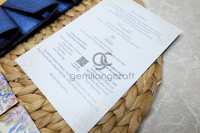 Prada invitation for Ronaldo & Hilda by Gemilang Craft - 002