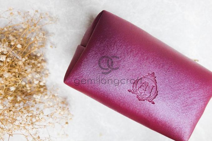 Boxy pouch packaging ribbon Azizah & Nova by Gemilang Craft - 002