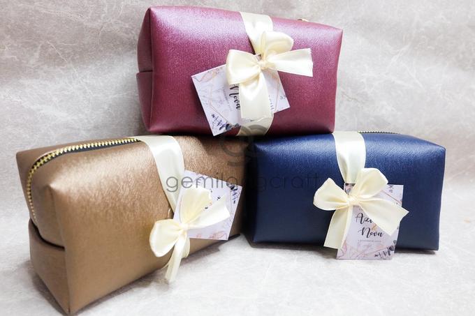 Boxy pouch packaging ribbon Azizah & Nova by Gemilang Craft - 001