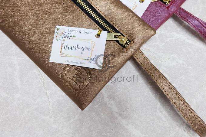 Dakota pouch for Liesna & Teguh by Gemilang Craft - 002