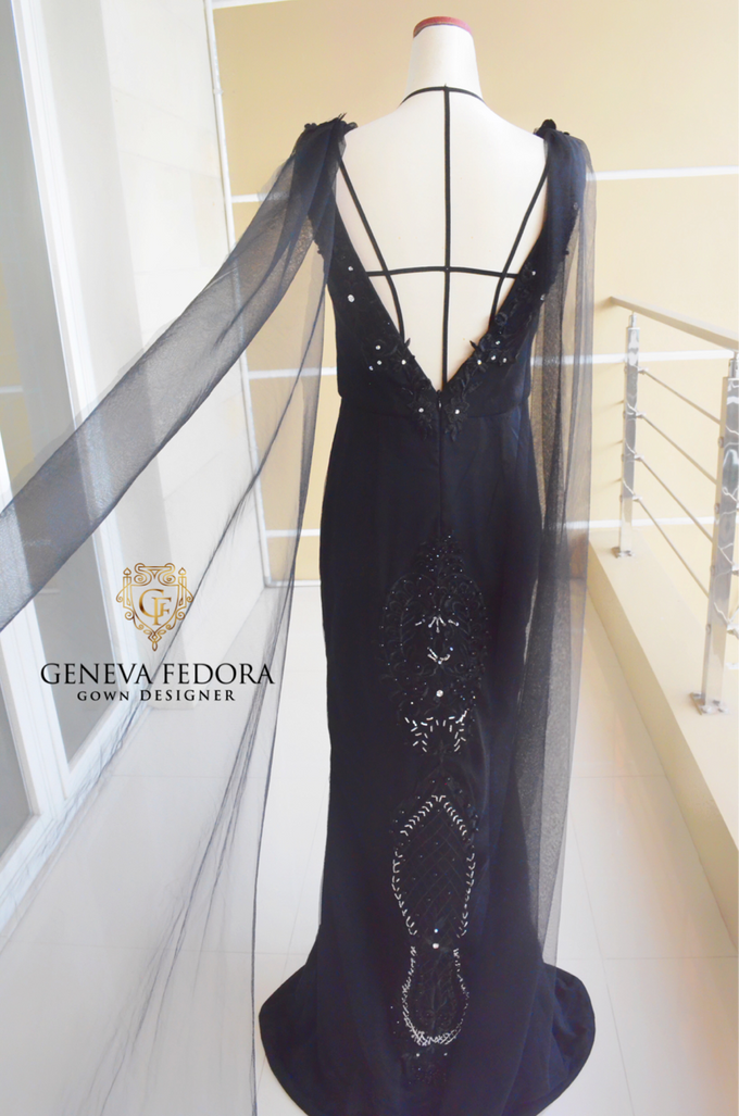Custom Made Gown & Rental Gown  by Geneva Fedora - 001