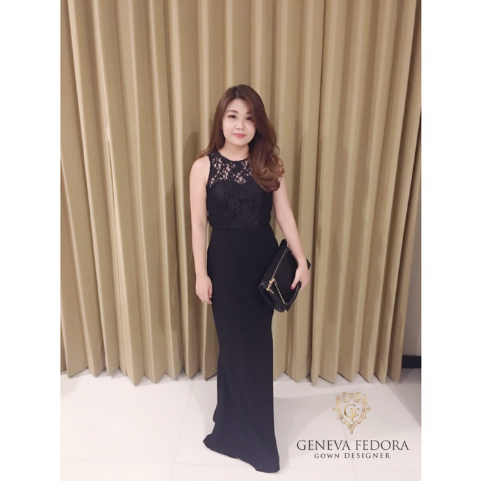 Custom Made Gown & Rental Gown  by Geneva Fedora - 003