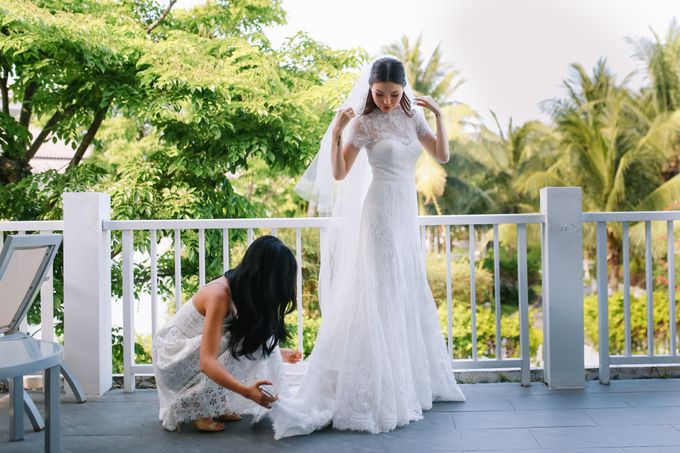 Wedding day Si & Kat - Premier Village Da Nang Resort by Anh Phan Photographer   vietnam weddng photographer - 010