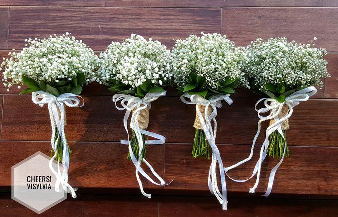WEDDING BOUQUET  by visylviaflorist - 001