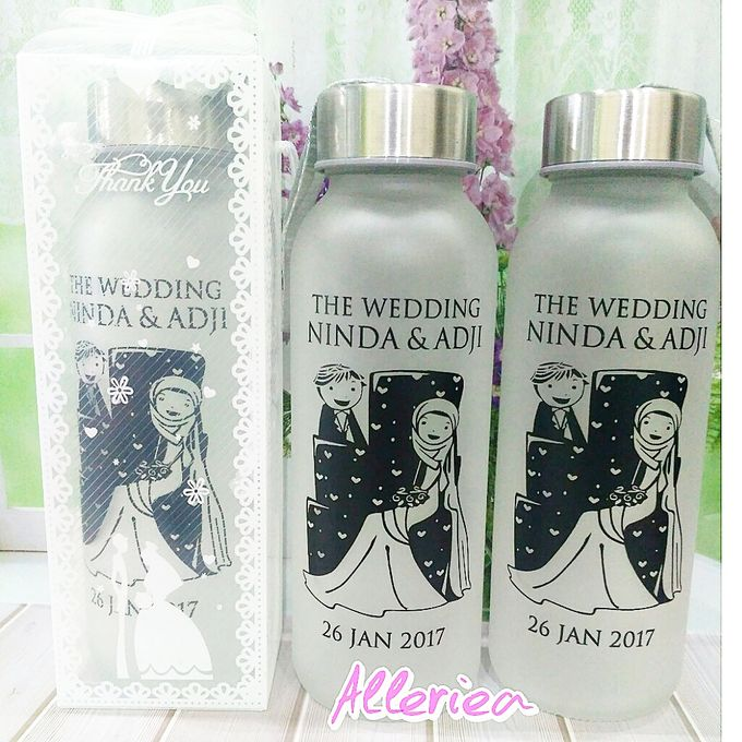 Glass Tumbler by Alleriea Wedding Gifts - 009