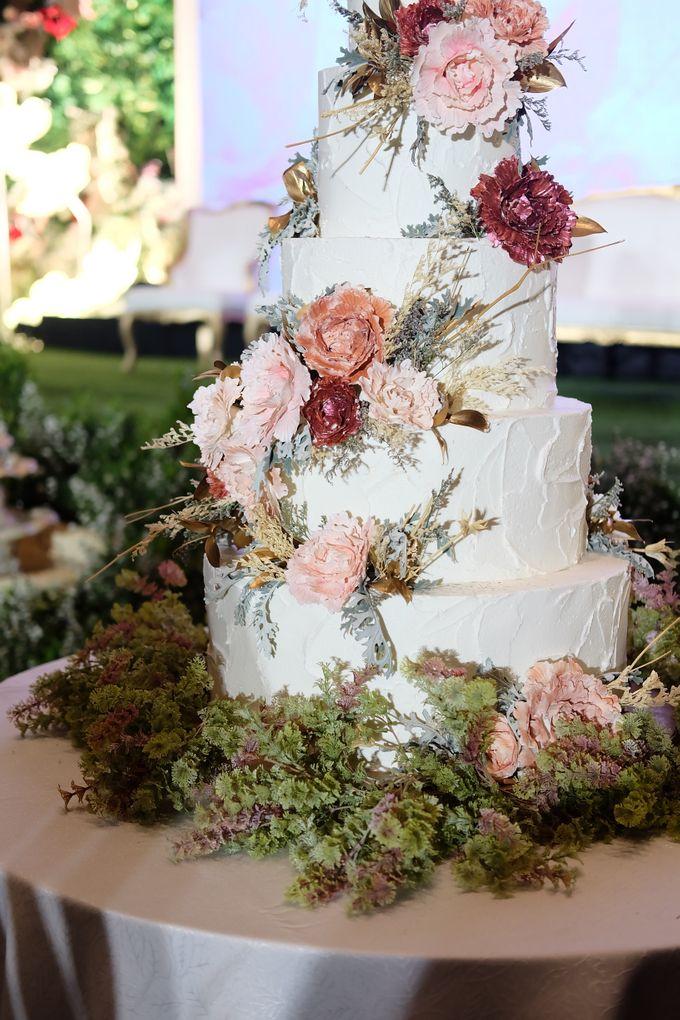 The Wedding of Yosep & Livita by KAIA Cakes & Co. - 006