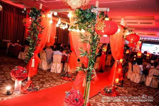 Oriental Wedding Decoration Theme by Wedding And You - 007