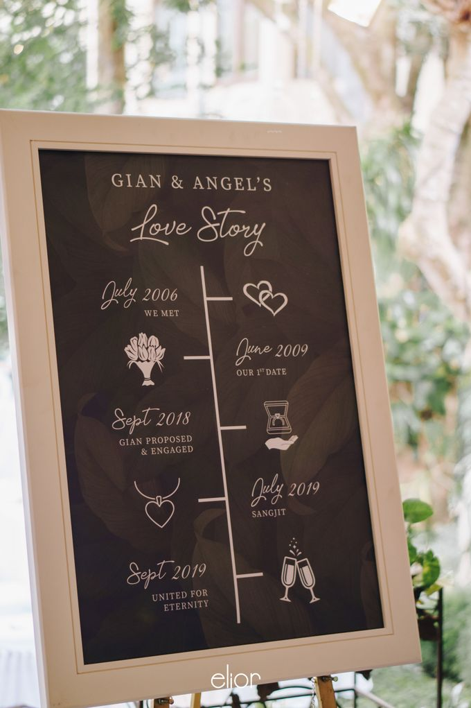The Wedding of Gian & Angel by Elior Design - 006