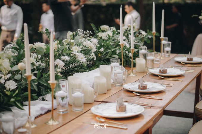 The Wedding of Gian & Angel by Elior Design - 008