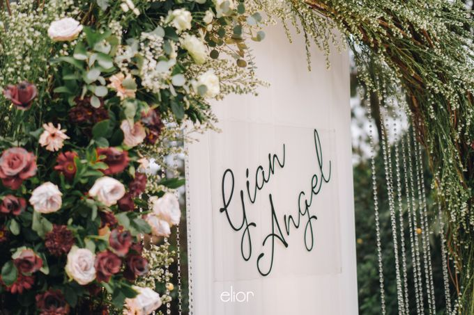 The Wedding of Gian & Angel by Elior Design - 009