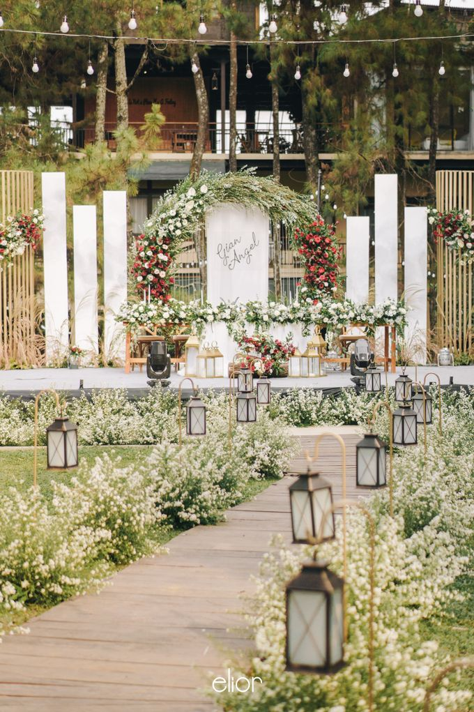 The Wedding of Gian & Angel by Elior Design - 002