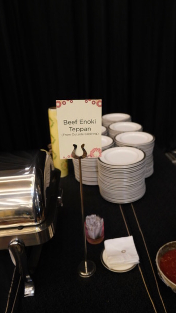 500 pax Enoki beef roll  by GINZA CATRING - 001