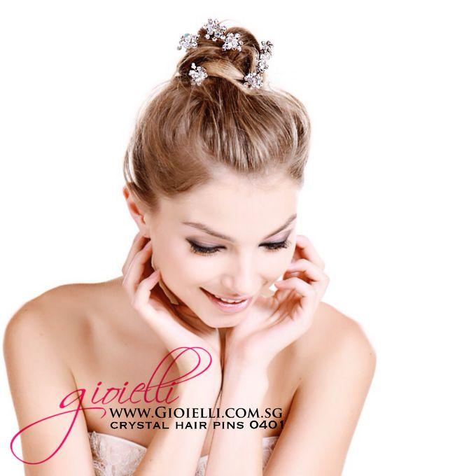 Gioielli Bridal Accessories & Crystal Bouquets by Gioielli Bridal Accessories & Crystal Bouquets - 014
