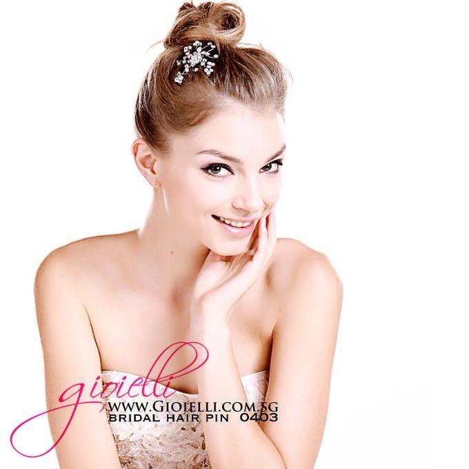 Gioielli Bridal Accessories & Crystal Bouquets by Gioielli Bridal Accessories & Crystal Bouquets - 015