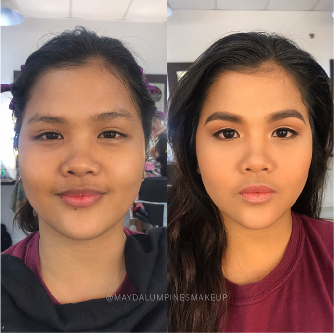 BEFORE & AFTER by May Dalumpines Makeup - 006
