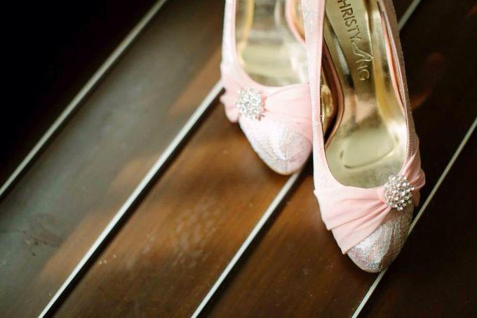 Bridal Shoe Close Ups by Christy Ng Shoes - 027