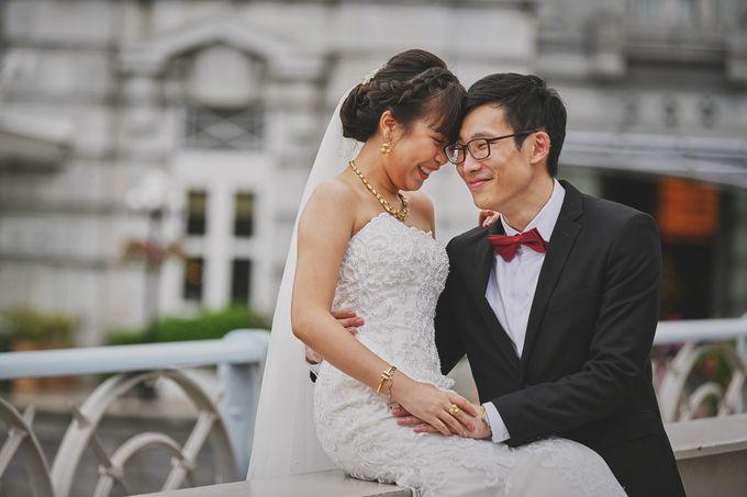 Wedding Day - Geo & Joanne by The Fullerton Hotels - 001
