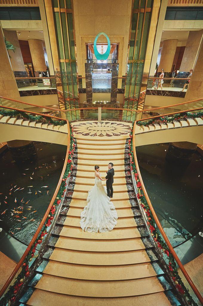 Wedding Day - Geo & Joanne by The Fullerton Hotels - 002