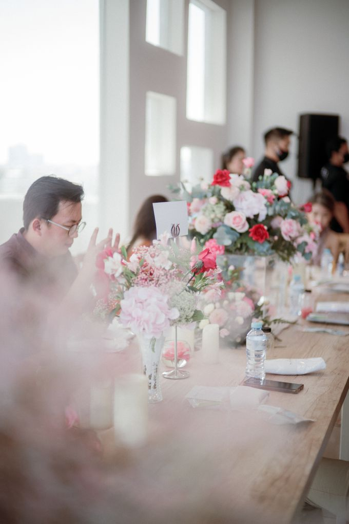 Intimate Wedding Luncheon of Edo & Deasy by Milieu Space - 008