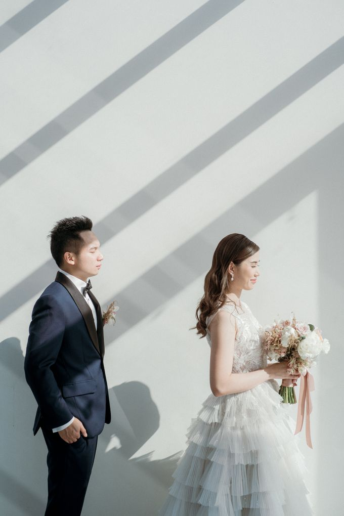 Intimate Wedding Luncheon of Edo & Deasy by Milieu Space - 009