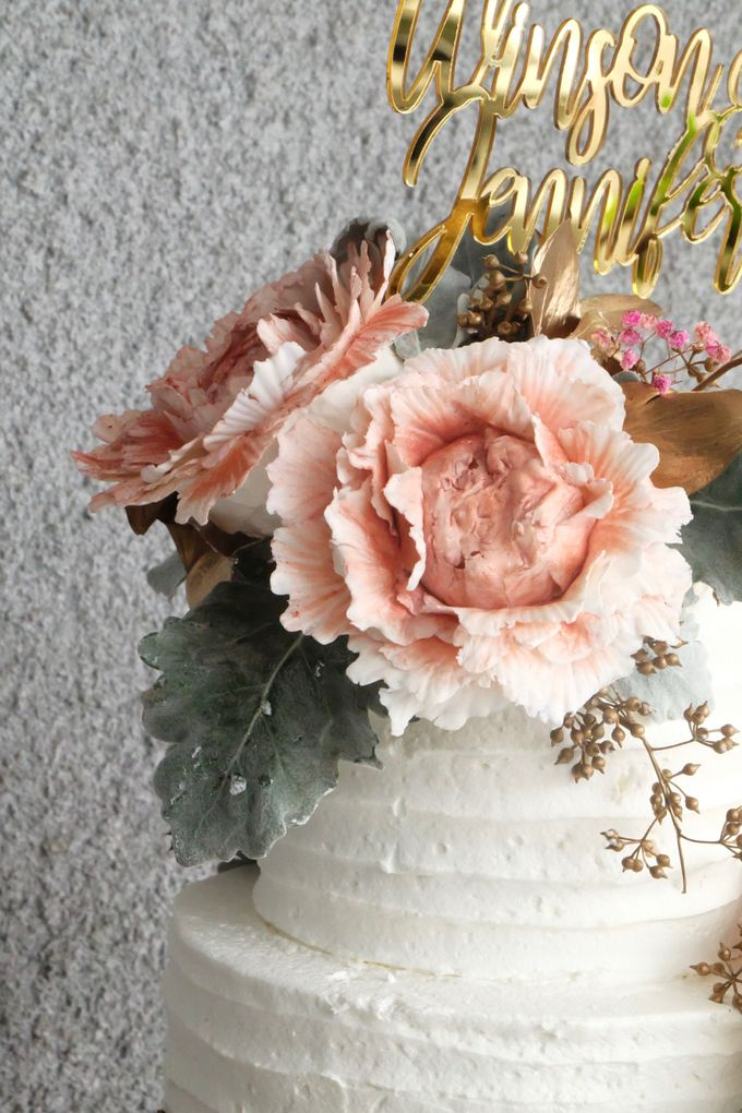 The Wedding of Winson & Jennifer by KAIA Cakes & Co. - 009