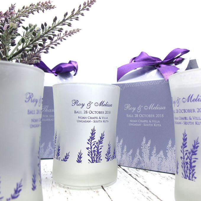 Frosted Glass Include Personalised Paperbag by Fine Souvenir - 002