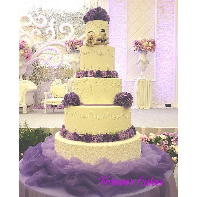 5-7 Tiers Wedding Cakes by FOREVER CAKE | Bridestory.com