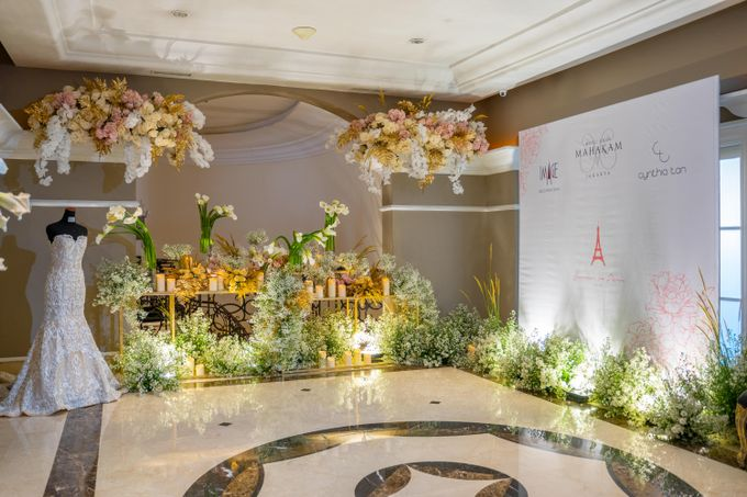 Summer in Paris Wedding Open House by Artist Booking - Full Color Entertainment  - 001