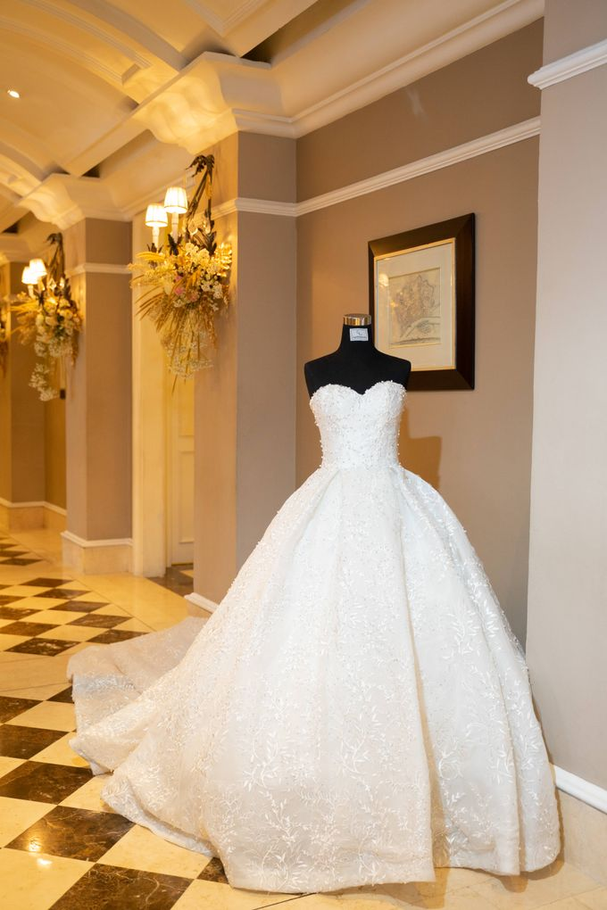 Summer in Paris Wedding Open House by Artist Booking - Full Color Entertainment  - 012