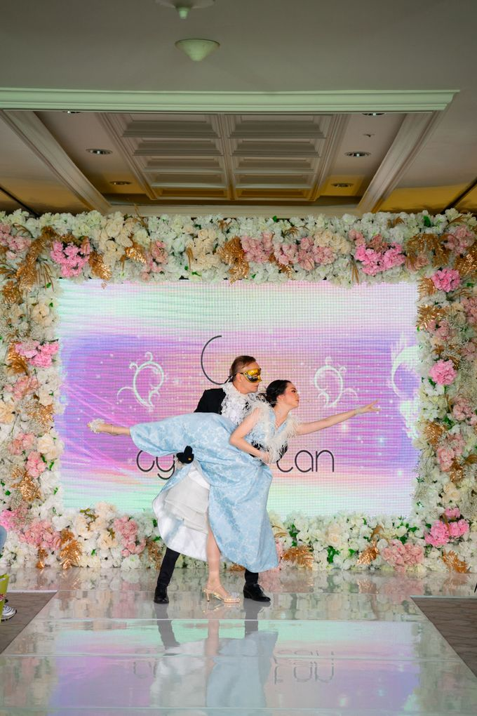Summer in Paris Wedding Open House by Artist Booking - Full Color Entertainment  - 006