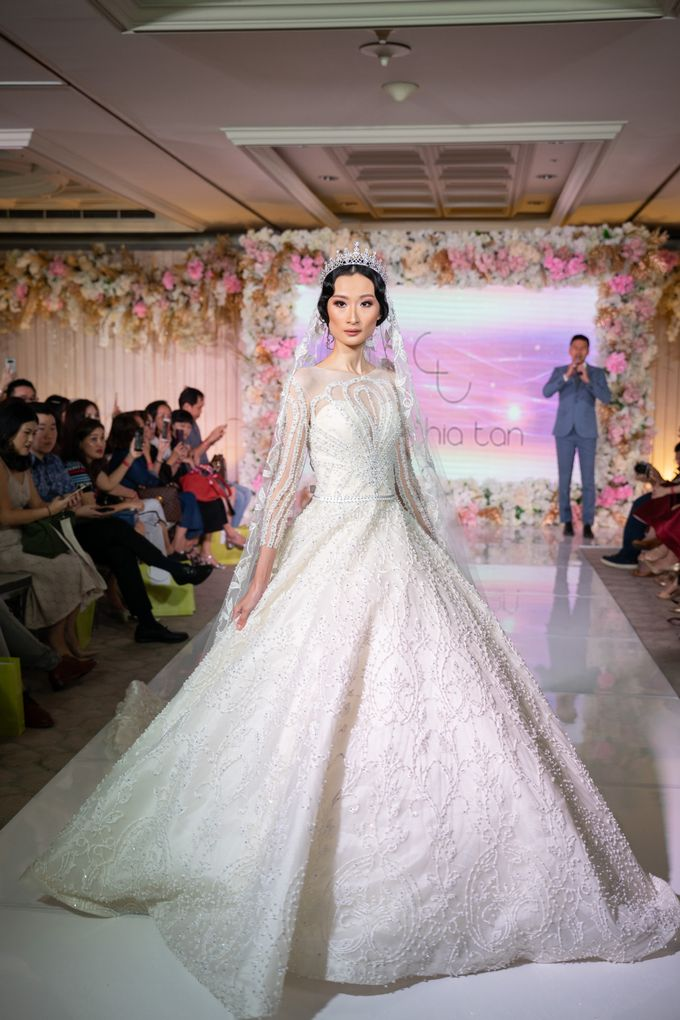 Summer in Paris Wedding Open House by Artist Booking - Full Color Entertainment  - 019