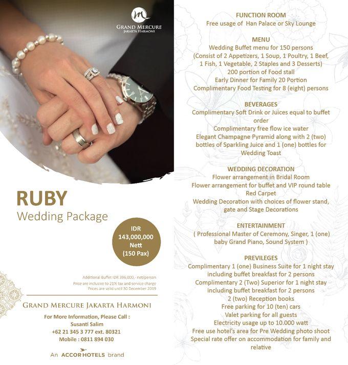 Wedding Package 2019 by GRAND MERCURE Jakarta Harmoni - 001