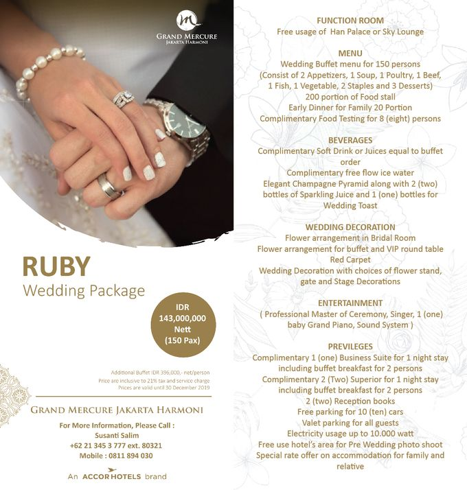 Wedding Package 2019 by Pelangi Cake - 001