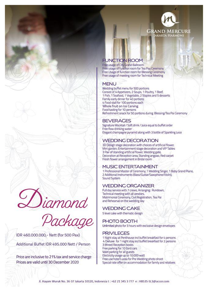 Wedding Package 2019 by GRAND MERCURE Jakarta Harmoni - 007