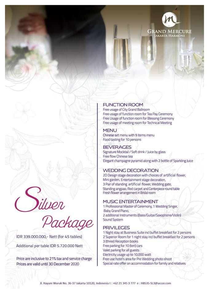 Wedding Package 2019 by GRAND MERCURE Jakarta Harmoni - 004