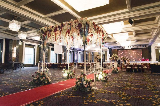Wedding at The Majestic Hotel Kuala Lumpur - Prabu & Mirasha by Glitz&Glam Studiobooth - 001