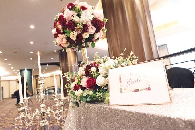 Wedding at The Majestic Hotel Kuala Lumpur - Prabu & Mirasha by Glitz&Glam Studiobooth - 010