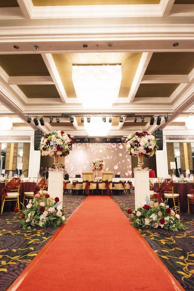 Wedding at The Majestic Hotel Kuala Lumpur - Prabu & Mirasha by Glitz&Glam Studiobooth - 012