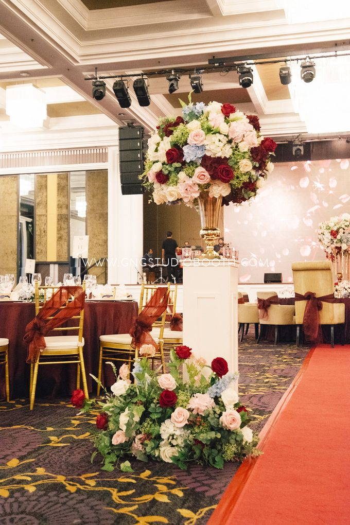 Wedding at The Majestic Hotel Kuala Lumpur - Prabu & Mirasha by Glitz&Glam Studiobooth - 013